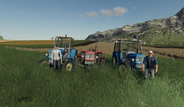 Мод «Zetor UR1 Pack» для Farming Simulator 2019