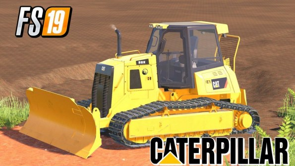 Мод «Caterpillar D6K Dozer» для Farming Simulator 2019
