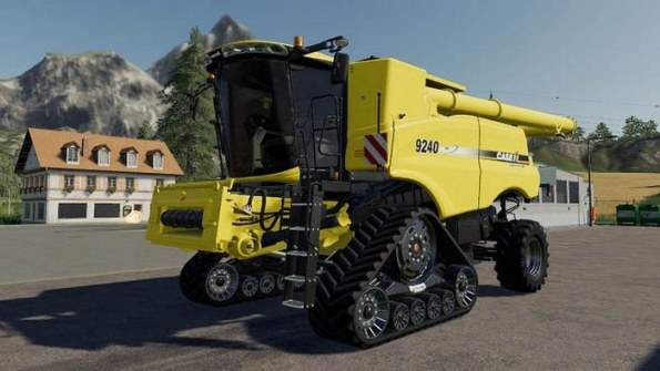 Мод «CASEIH Axial-Flow 9240 Custom» для Farming Simulator 2019