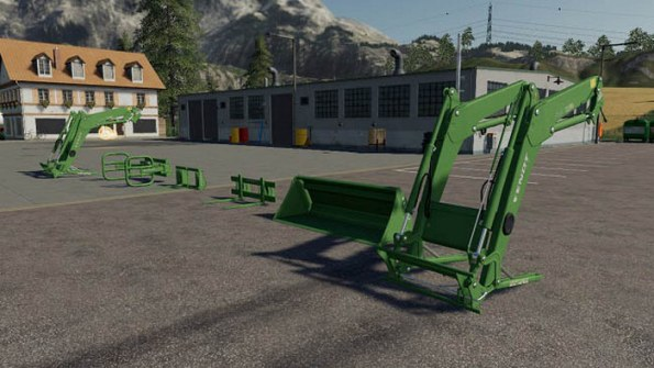 Мод «Fendt Cargo Pack» для Farming Simulator 2019