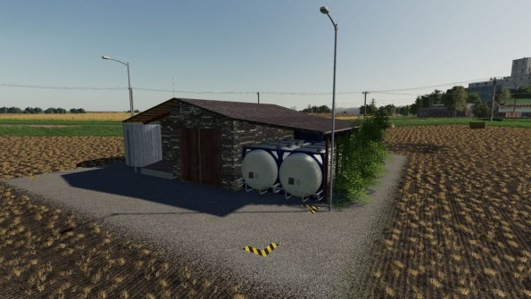 Мод «Large Liquid Storage» для Farming Simulator 2019