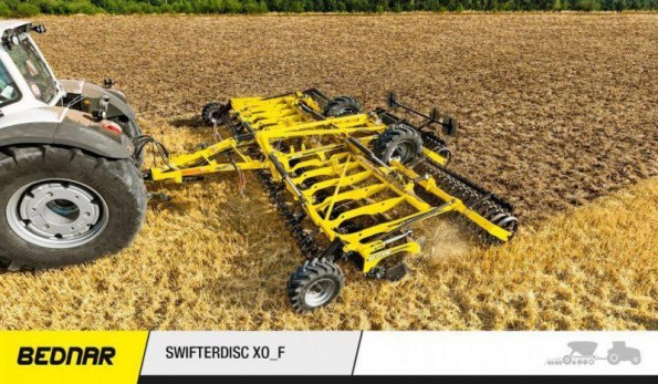 Мод «Bednar SwifterDisk XO 6000F» для Farming Simulator 2019