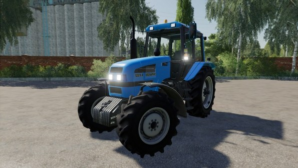 Мод «МТЗ-1221.4» для Farming Simulator 2019