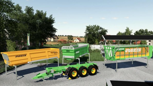 Мод «Joskin Cargo Pack» для Farming Simulator 2019