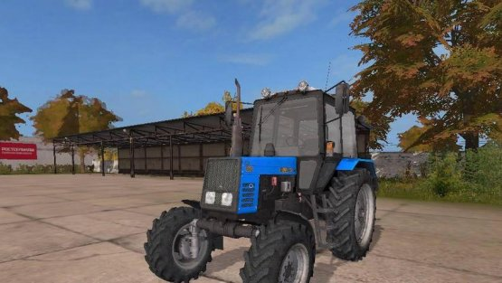 Мод «МТЗ 892» для Farming Simulator 2017