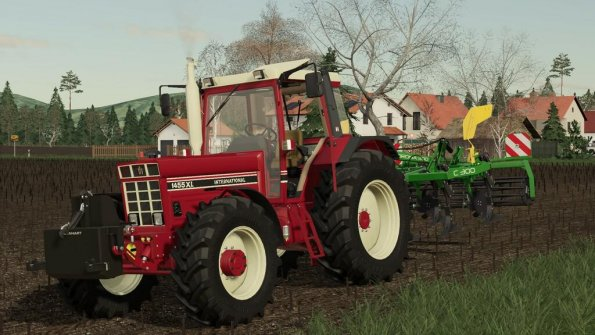 Мод «International 1455/1255 XL» для Farming Simulator 2019