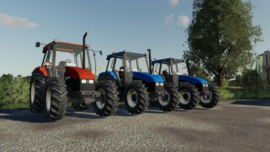 Мод «Pack New Holland Series L, TL & 35» для Farming Simulator 2019