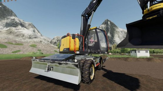 Мод «Volvo 150 EWR - 150E» для Farming Simulator 2019