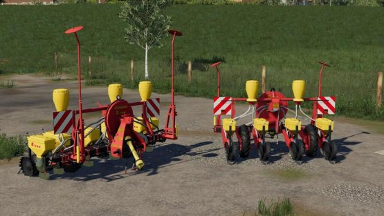 Мод «Rau Unisem MS4 / MS6» для Farming Simulator 2019