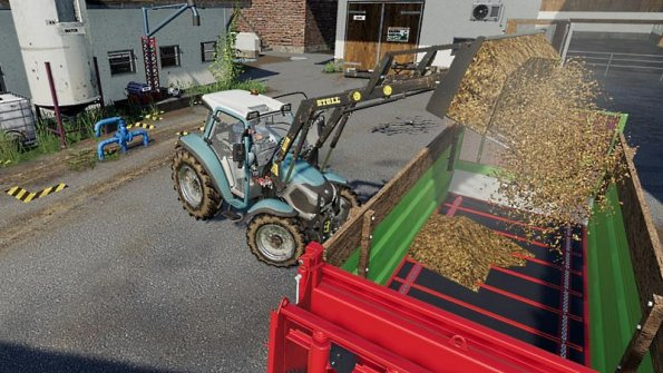 Мод трактор «Lindner Lintrac» для Farming Simulator 2019