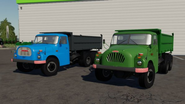 Мод «Tatra 138/148» для Farming Simulator 2019