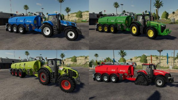 Мод «Samson Slurry Pack» для Farming Simulator 2019