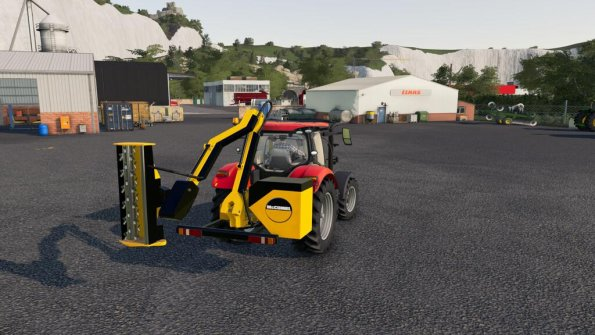 Мод «McConnell Reach Mower» для Farming Simulator 2019