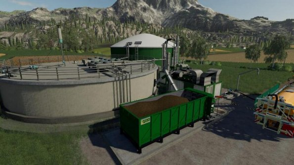 Мод «BGA 100KW/200KW» для Farming Simulator 2019