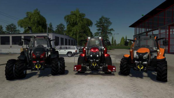 Мод «Lindner Lintrac 90» для Farming Simulator 2019
