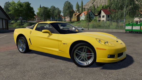 Мод «Chevrolet Corvette Z06 2006» для Farming Simulator 2019