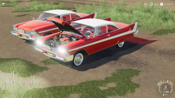 Мод «Plymouth Fury Christine» для Farming Simulator 2019