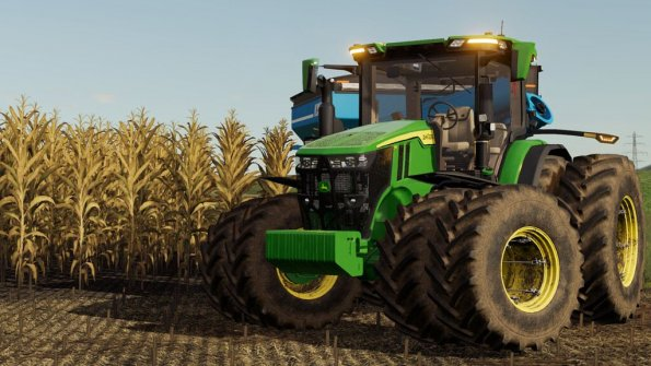 Мод «John Deere 7R,8R,8RT,8RX 2020 US-Version» для FS 2019