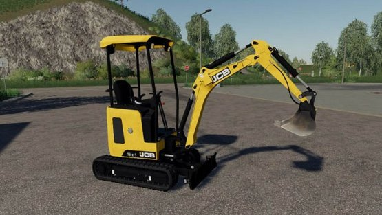 Мод «JCB 18Z» для Farming Simulator 2019