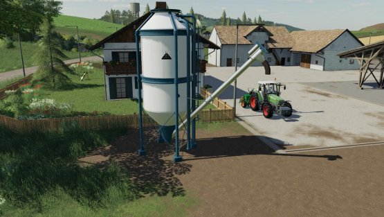 Мод «Placeable Refill Silos Salt» для Farming Simulator 2019