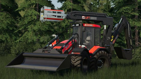 Мод Пак «Huddig 1260E» для Farming Simulator 2019