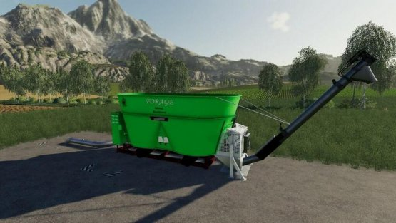Мод «Forage Mixer» для Farming Simulator 2019