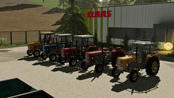 Мод «Ursus C355/C355M/C360» для Farming Simulator 2019