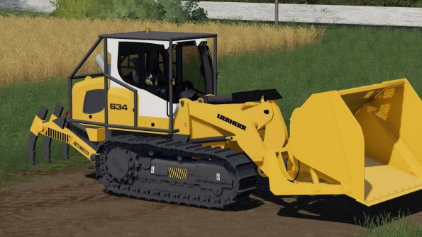 Мод «Liebherr 634 Ripper Edition» для Farming Simulator 2019