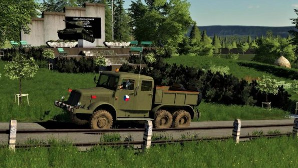Мод «Tatra 141 Armada» для Farming Simulator 2019
