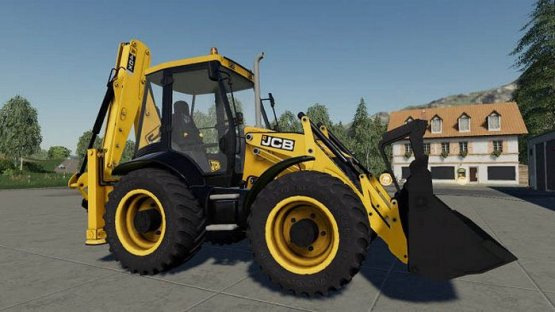 Мод «JCB 3CX & 4CX Pack» для Farming Simulator 2019