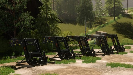 Мод «Hauer Frontloader Pack» для Farming Simulator 2019