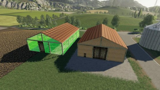 Мод «Agricultural Brick Shed» для Farming Simulator 2019