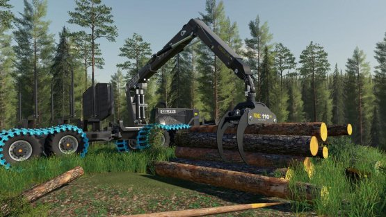 Мод «NMC Goliath Forest Machines» для Farming Simulator 2019