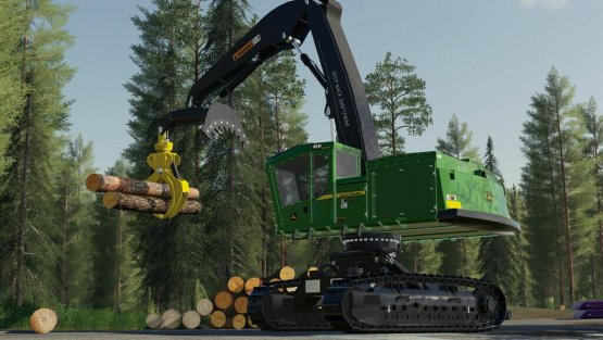 Мод «John Deere 953M Swing Loader» для Farming Simulator 2019