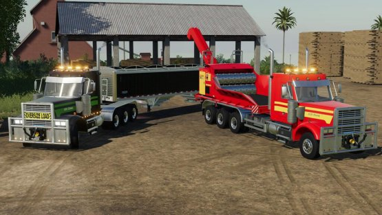 Мод «BsM Truck 850 And 850 IT» для Farming Simulator 2019