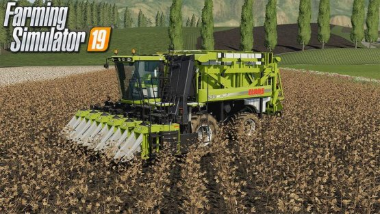 Мод «Case Module Express Cotton Harvester» для Farming Simulator 2019