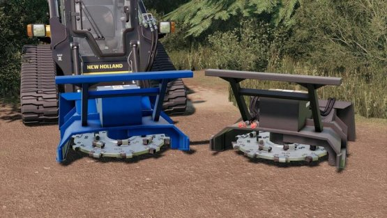 Мод «Forestry Disc Mulcher» для Farming Simulator 2019