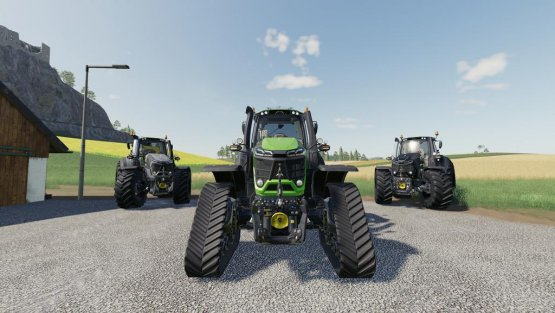 Мод «Deutz-Fahr 9 Series» для Farming Simulator 2019