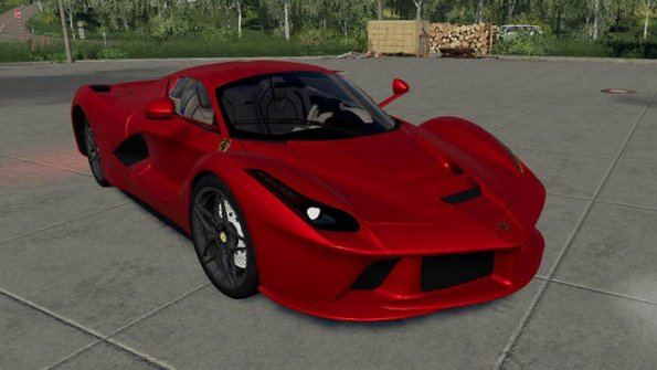 Мод спорткар «La Ferrari» для Farming Simulator 2019