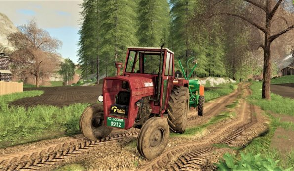 Мод «IMT 560 Old» для Farming Simulator 2019