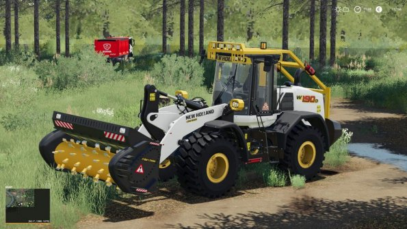 Мод «New Holland W-190 Forestier» для Farming Simulator 2019