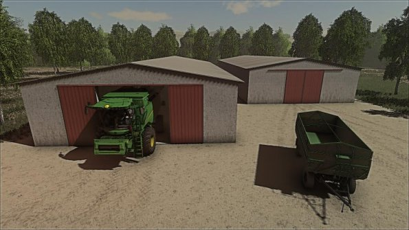 Мод «Grain Storage (Medium)» для Farming Simulator 2019