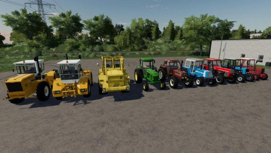Мод «Kharon Retro TSZ Pack» для Farming Simulator 2019