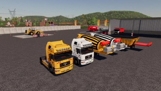 Мод «FS Miner's Construction Pack» для Farming Simulator 2019