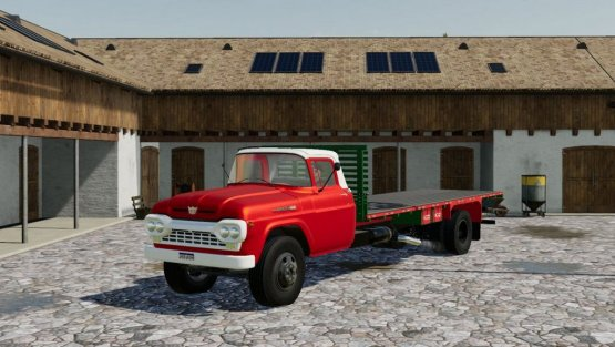 Мод «Ford F600» для Farming Simulator 2019