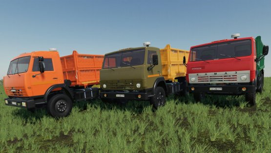 Мод «Камаз 55102» для Farming Simulator 2019