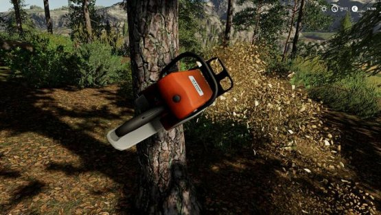 Мод «Stihl MS660» для Farming Simulator 2019