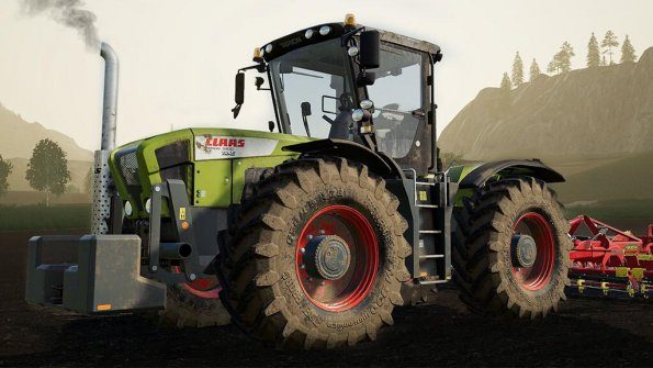 Мод «CLAAS Xerion 3000 series» для Farming Simulator 2019