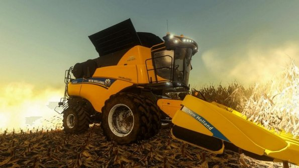 Мод «New Holland CR10.90 US» для Farming Simulator 2019