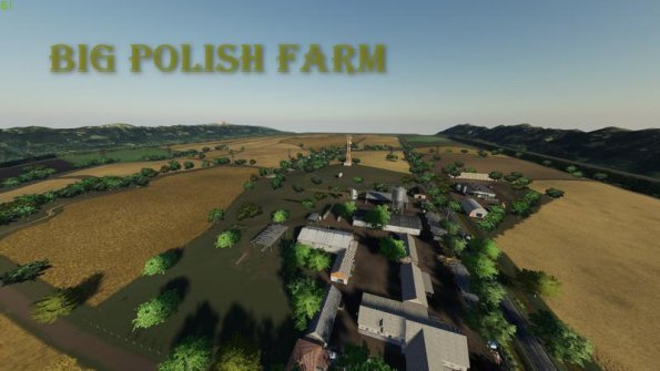 Карта «Big Polish Farm» для Farming Simulator 2019